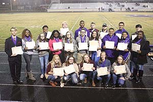 HCS honors students for ACT scores