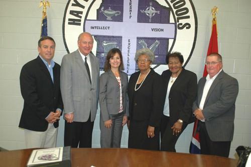 Teresa Russell named HCS Superintendent