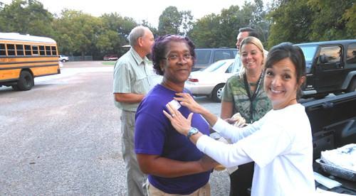 Schools show appreciation to bus drivers