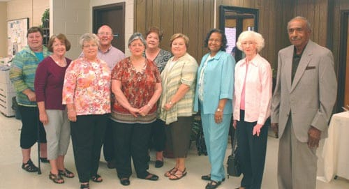 Haywood County Schools Retirees honored at reception