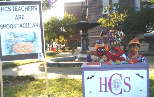 Haywood Schools' Scarecrows win again!
