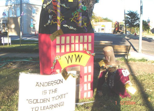 Anderson scarecrow wins 3rd place
