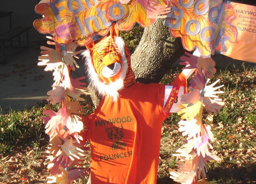 Haywood Elementary Scarecrow wins 2nd place