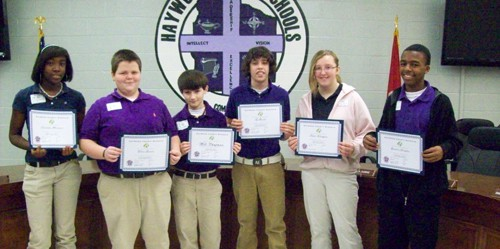 Haywood County Schools Spelling Bee