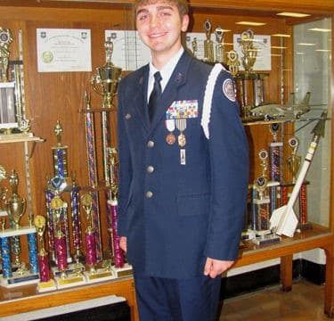 Christopher D. Parker nominated to USAFA