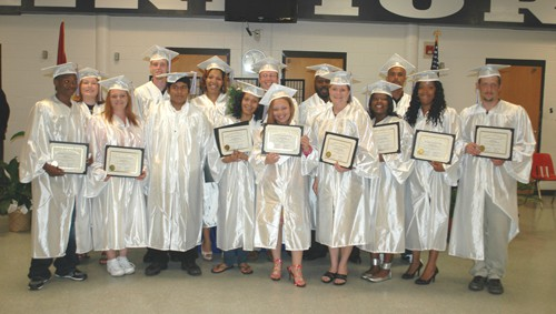 Students earn GED certificates