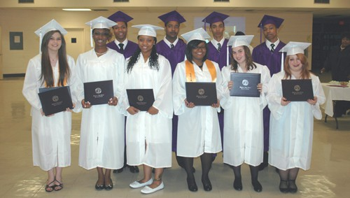 Eleven HHS Reach students receive diplomas