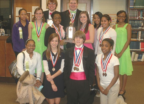 Haywood High School places third in West Tennessee Regional Academic Decathlon
