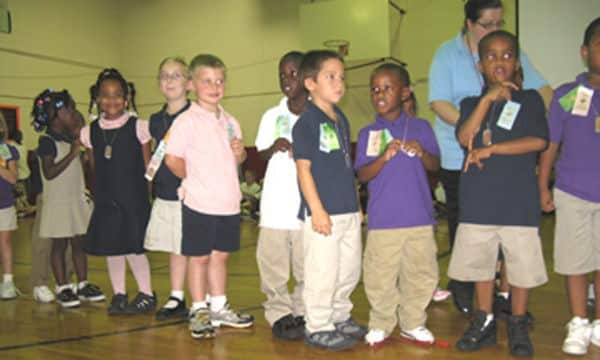 Anderson students receive recognition at Pep Rall