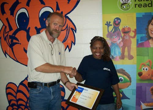 Ms. Folks GCA Employee of the Month