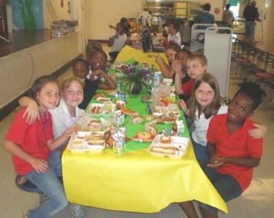 Third-graders win Positive Behavior Award