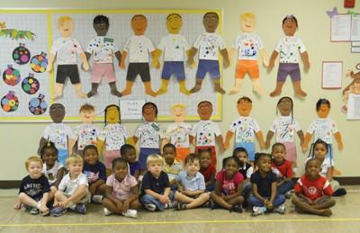 Preschoolers make look-alikes