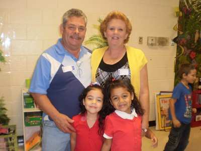 Mrs. Lovelace's students celebrate Grandparents and Patriot Day