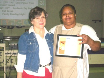 Ms. West named GCA Employee of the Month