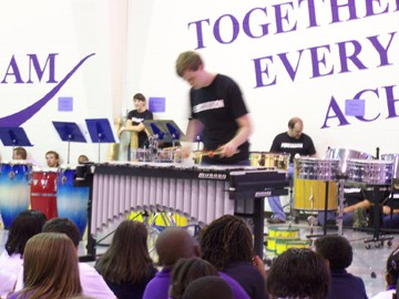 "Martin Percussion Band ""Edutains"" Sunny"