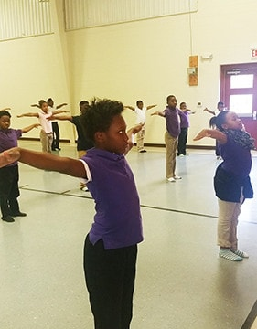 East Side Students Learn About Healthy Eating And Yoga