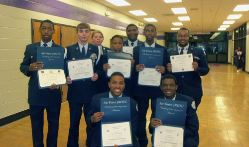 AFJROTC TN-944 graduating seniors web