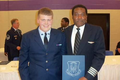 Cadet Tommy Pyron & Cpt Calvin Janes web