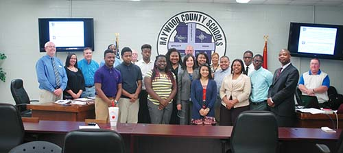 School Board recognizes students and approves mini grants