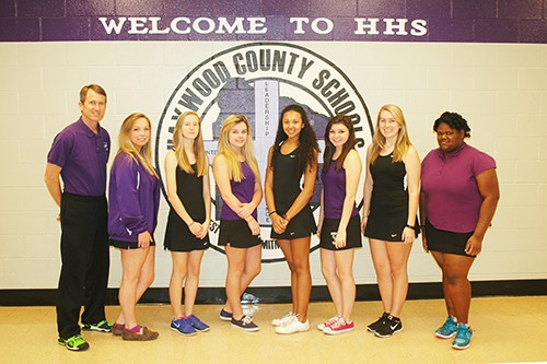HHS Girls Tennis Team web
