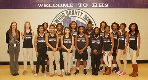 HHS Girls Track Team web