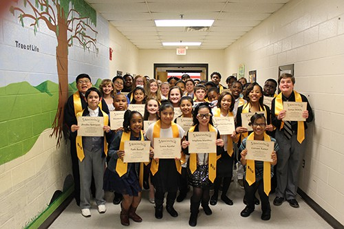 HMS Holds Beta Club Induction