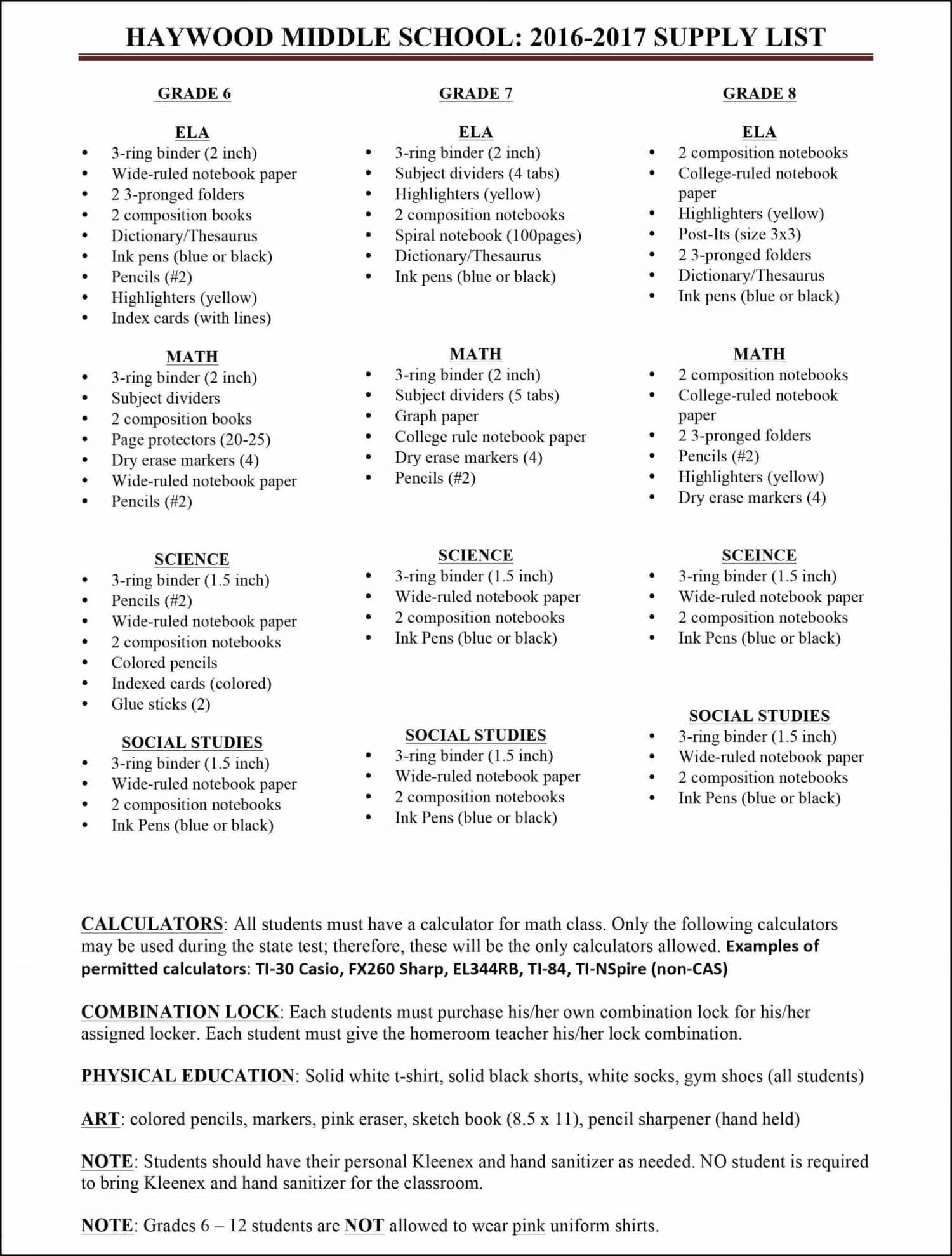 Microsoft Word - HMS Supply List 2016-2017.docx