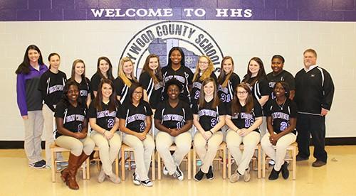 HS softball team web