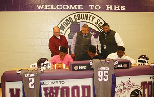 Three Tomcats Sign To Play College Football