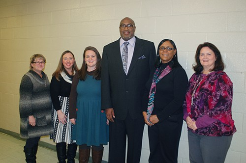 Teachers of the Year recognized at February School Board meeting