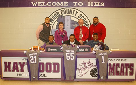HHS Tomcats Receive Athletic Scholarships | Haywood County