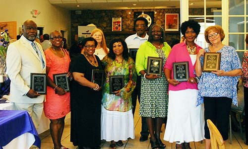 HCS retirees honored at reception