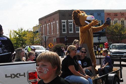 2016 Tomcat Football Homecoming Haywood County Schools