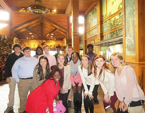 Marketing students visit Bass Pro