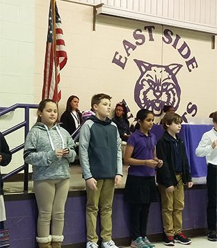 East Side holds Awards Rally