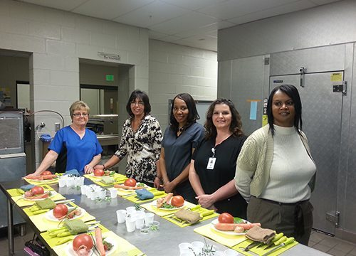 HCS Nutrition staff attends culinary training