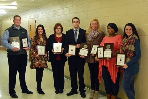 School Board honors Teachers of the Year