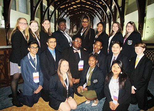 HHS DECA students advance to international competition