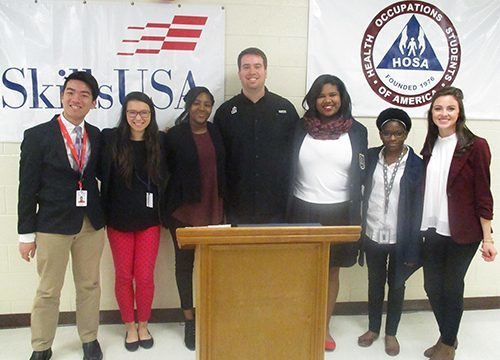 HHS DECA hosts on-site Mini Conference