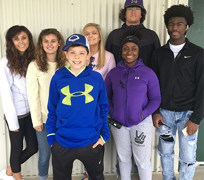 HHS A/V students work with Jackson Generals
