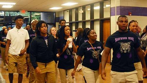 Hhs Welcomes Class Of 2018 Haywood County Schools