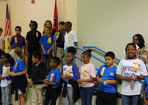 HES students honored for success