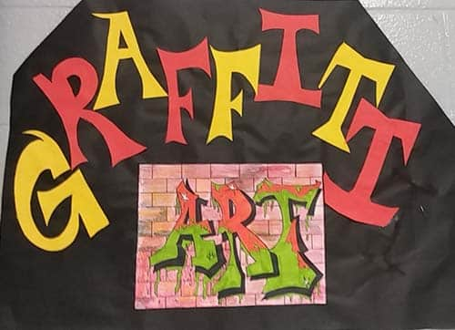 "HMS students create ""Graffiti"""