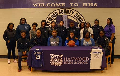 Jamirah Shutes to be a Tiger