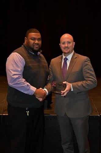 Seymour wins a TSSAA A.F. Bridges Award