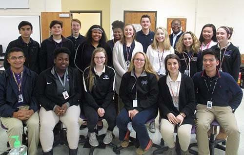 DECA students advance