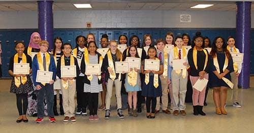HMS Beta Club inducts 24 members