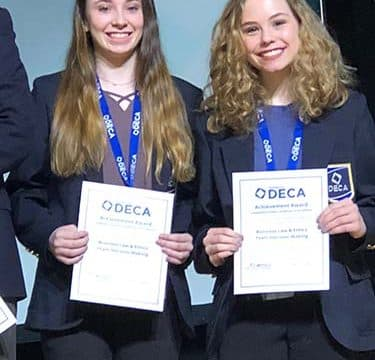 DECA students advance to International Contest
