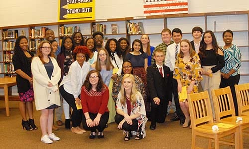 HHS Beta Club inducts 42 new members