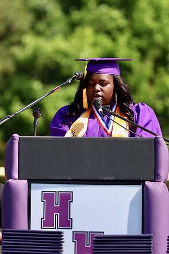 HHS Seniors Graduate